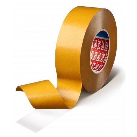 High performance D/S PVC tape with white acrylic adhesive - TESA 4970