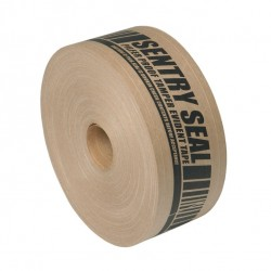 Pilfer Proof Tamper Evident Gum Tape - Sentry Seal