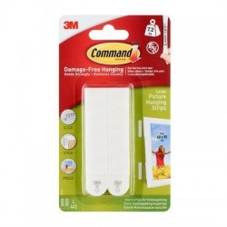 Command Large Picture Hanging Strips - 3M 17206