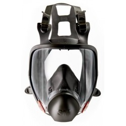 Reusable Full Face Mask, Large - 3M 6900