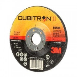 3M Cubitron II depressed centre grinding wheel