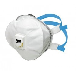 Disposable Respirator, FFP2, Valved, 3M 8825+