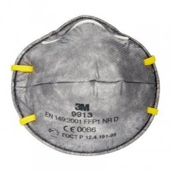 Speciality Disposable Respirator, FFP1, Unvalved, 3M 9913