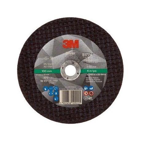 Silver Cut-Off Wheel - 3M 51774