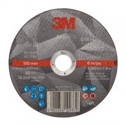 Silver Cut-Off Wheel - 3M 51814