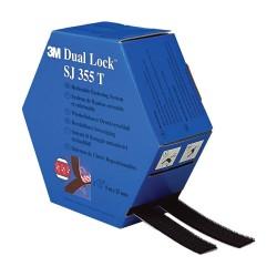 Dual Lock Twin Pack Black - 3M SJ355T