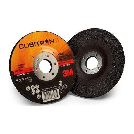 3M Cubitron II depressed centre grinding wheel