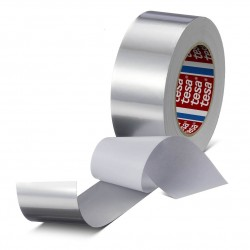 Conformable aluminum tape with paper liner - Tesa 60632