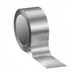 Linerless, self wound aluminium foil tape with Acrylic Adhesive