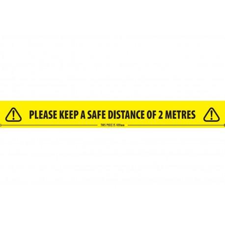 Safe Distance Social Distance Tape