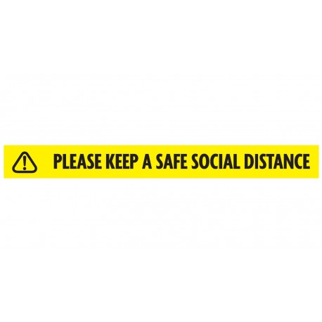 Safe Social Distance Tape