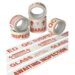 Standard Text Printed Polypropylene Tapes