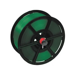 Extruded Polyester Strapping on Plastic Reel