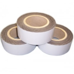 Black/White (co-ex) polythene outdoor protection tape 80mu