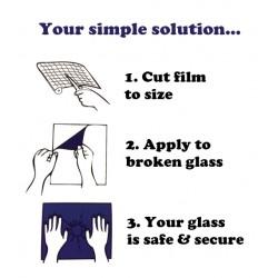 Glass repair film - Glassmaster 175