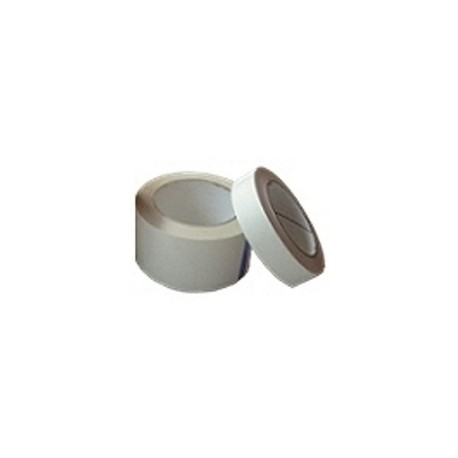 General purpose D/S tissue tape with rubber adhesive for lightweight holding applications