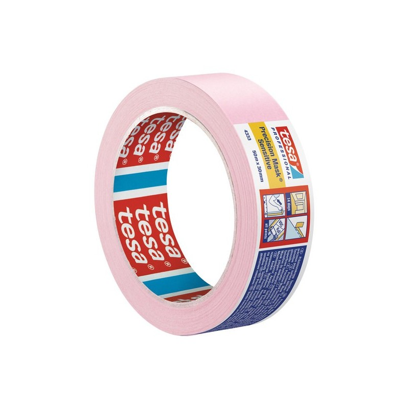 Precision Masking Tape For Sensitive Surfaces - Tesa 4333 - Shand ...