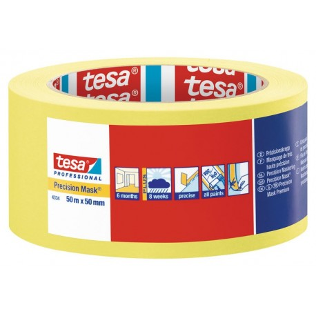 Precision Masking Tape For Precise Sharp Edges - Tesa 4334